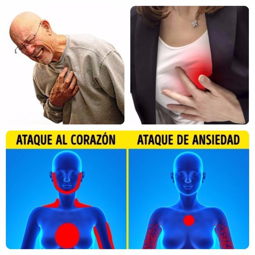 ataque de ansiedad o al corazón
